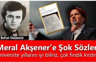 "Meral Akşener'e Şok Sözler; ""Üniversite..."