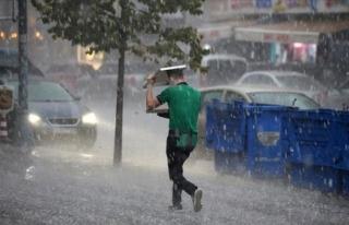Meteoroloji'den Sağanak Yağış ve Fırtına...