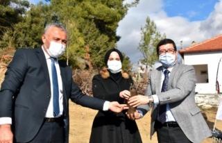 Muğla'da 80 Bin Lavanta Toprakla Buluştu