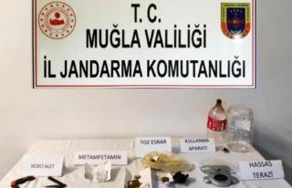 Muğla'da, Pansiyondan Esrar Ticaretine 4 Gözaltı
