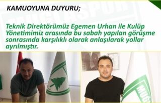 Muğlaspor'da Teknik Direktör Egemen Urhan İle...