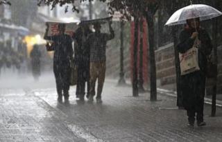 Şemsiyeleri Hazırlayın! Meteoroloji'den Kuvvetli...