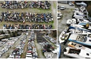 Bodrum'da Binlerce Motosiklet, Yüzlerce Tekne...