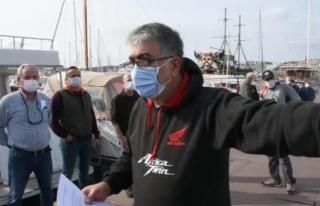 Bodrum'da Tekne Sahipleri İskele Bağlama Fiyatına...