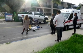 Bodrum'da Virajı Alamayan Motosikletli Hastanelik...
