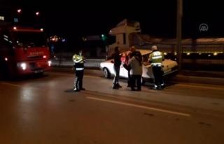 Korkutan Kaza: Otomobil İle Tır Çarpıştı
