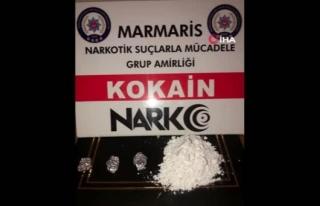 Marmaris'te, Kokain Satıcısı Çıkan Emlakçı...