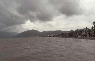 Marmaris ve Bodrum'da Fırtınamsı Rüzgar Etkili...