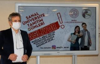 MUĞLA'DA SANAL ÜNİVERSİTE TANITIM GÜNLERİ...