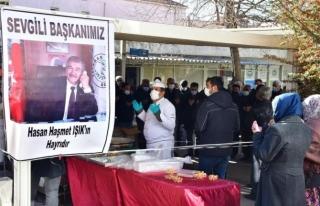 Eski Yatağan Belediye Başkanı Hasan Haşmet Işık...