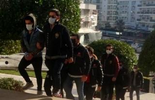 Marmaris'te Uyuşturucu Tacirleri Adliyeye Sevk...