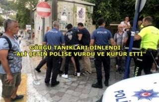 Denizlispor Başkanı Ali Çetin ve Ailesinin Polisler...