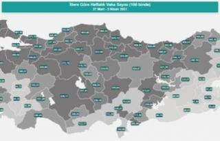 68 İlin Çok Yüksek Riskli Kategoriye Girmesi Turizm...