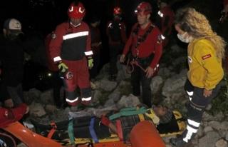 Fethiye'de Kayalıklardan Düşen Kişi 4 Saatte...