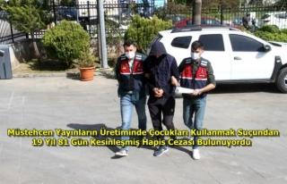 Fethiye'de, Kesinleşmiş Hapis Cezası Bulunan...
