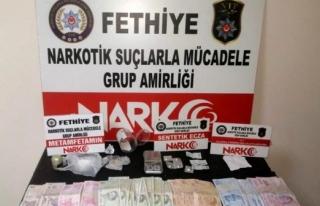 Fethiye'de Yapılan Uyuşturucu Operasyonunda...