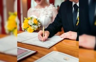 Marmaris'te Online Nikah Uygulaması Başlatıldı