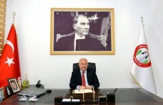Menteşe Belediye Başkanı Bahattin Gümüş, 1 Mayıs...
