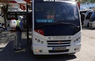 Muğla Büyükşehir'in Milas'ta Dezenfekte...