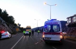 Muğla'da Meydana Gelen Trafik Kazasında 1 Kişi...