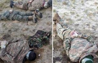Azerbaycan Ordusu, Mayın Döşeyen Ermeni Askerleri...