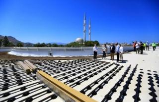Başkan Gürün, Bodrum'da Devam Eden Yatırımları...