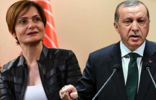 Cumhurbaşkanı Erdoğan'dan CHP'li Kaftancıoğlu'na...