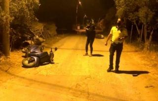 Fethiye'de İki Motosikletin Çarpıştığı...