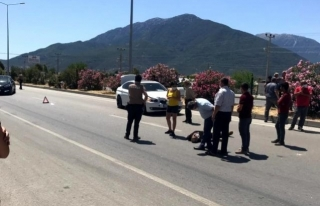 Fethiye'de Otomobilin Çarptığı Yaya Hayatını...