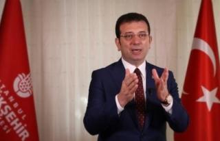 İmamoğlu Sosyal medya Üzerinden Bildirdi: Halk...