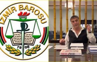 """İzmir Barosu """"Peker ve Videolarda Adı Geçenler..."""
