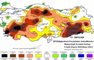 Son 6 Aylık Kuraklık Haritası Korkuttu! Muğla'da...