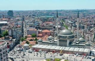 Taksim Camii Açıldı! Özellikleriyle Selçuklu...