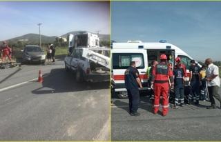 Yatağan'da Meydana Gelen Trafik Kazasında 2...