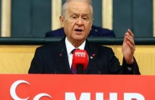 """Bahçeli'den Ahmet Şık Açıklaması: """"Bu..."""