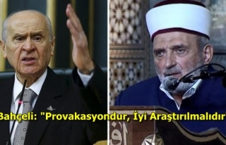 Bahçeli'den İmam Mustafa Demirkıran'a...