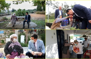 """Bodrum Belediyesi """"Yaşlılara Saygı Projesi""""..."""