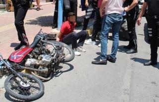 Çaldığı Motosikletle Kaza Yapan 13 Yaşındaki...