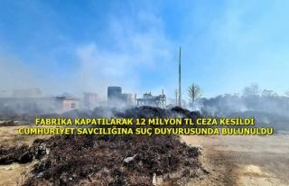 Dalaman'daki Kağıt Fabrikası Çıkan Yangınlar...