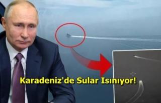 İngiliz Savaş Gemisine Uyarı Ateşi Açan Ruslar,...