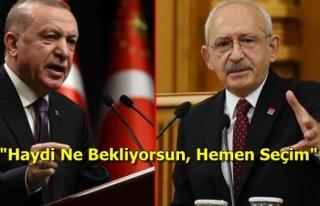 """Kılıçdaroğlu'ndan AK Parti'nin """"Yüzde..."""