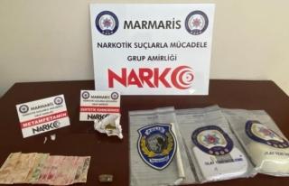 Marmaris'te Uyuşturucu Operasyonunda Yakalanan...