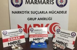 Marmaris'teki Uyuşturucu Operasyonunda 2 Zanlı...