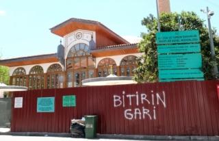 Menteşe'de, Kurşunlu Cami'nin Restorasyon...