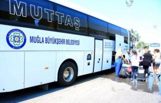 Muğla Büyükşehir Belediyesi, Havaalanlarına Nüfusunun...