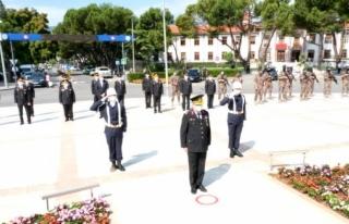 Muğla'da Jandarma Teşkilatı'nın 182....