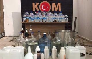 Muğla'da Sahte İçki ve Kaçakçılık Operasyonunda...