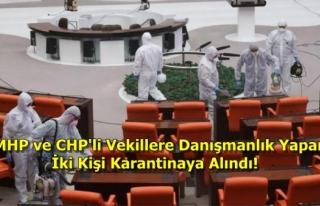 Türkiye Büyük Millet Meclisi'nde Delta Varyantı...