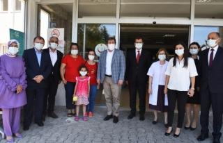 Vali Orhan Tavlı' dan Sağlık Çalışanlarına...