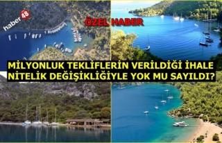 15 TEMMUZ VE OHAL GÖLGESİ ALTINDA, 4 DALAMAN KOYU...
